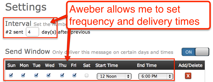 Configure-your-Message-Frequency