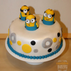 """""""Despicable Me"""" Cake by Madalina Bakery"""