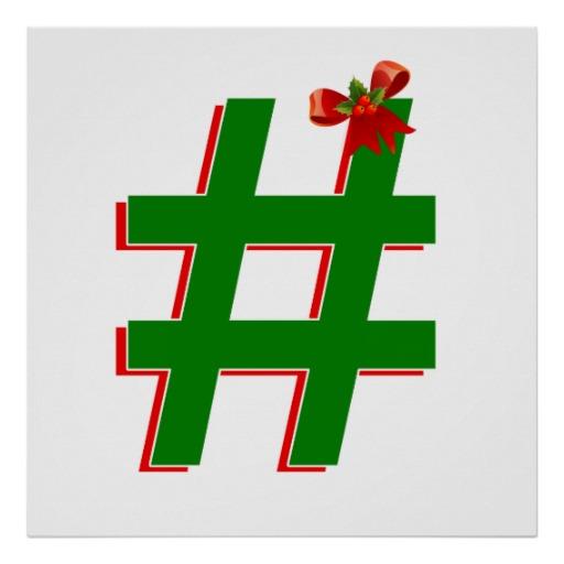 xmas hashtag